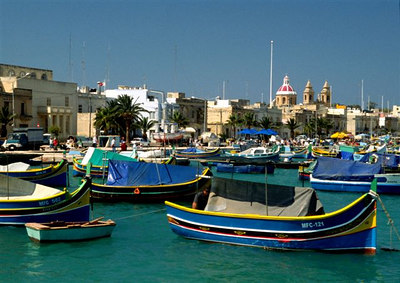 The harbor at Marsaxlokk