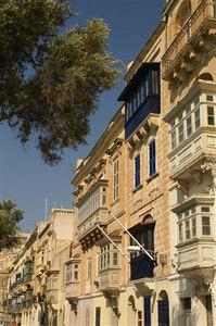 Trig Santa Barbara, Valletta