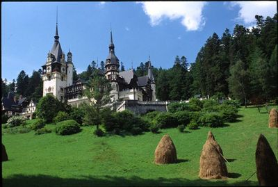 Peles Castle near Sinaia