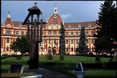 City hall in Bresov