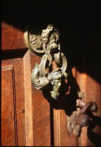 Doorknob of Bran Castle