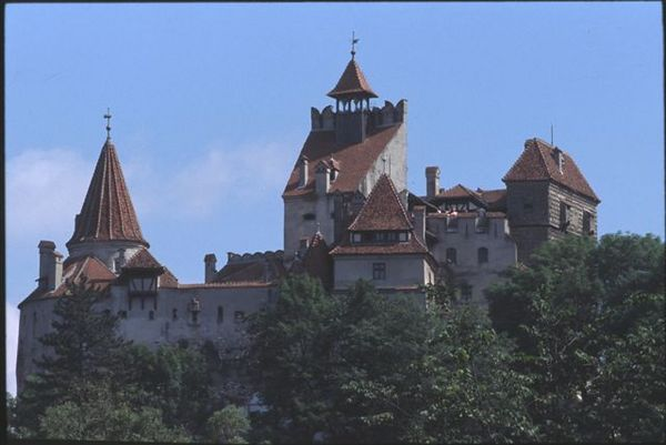 Bran Castle (mistakenly called Dracula's castle)