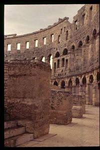 Roman Amphitheater (1) - Pula, Croatia