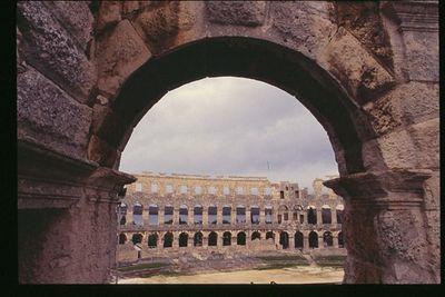 Roman Amphitheater (2) - Pula, Croatia