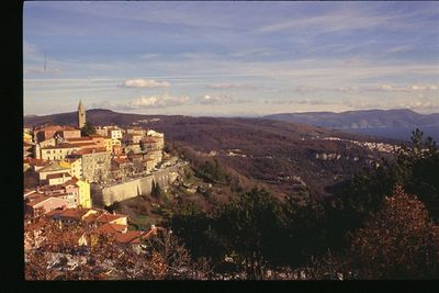 View of Labin, Croatia