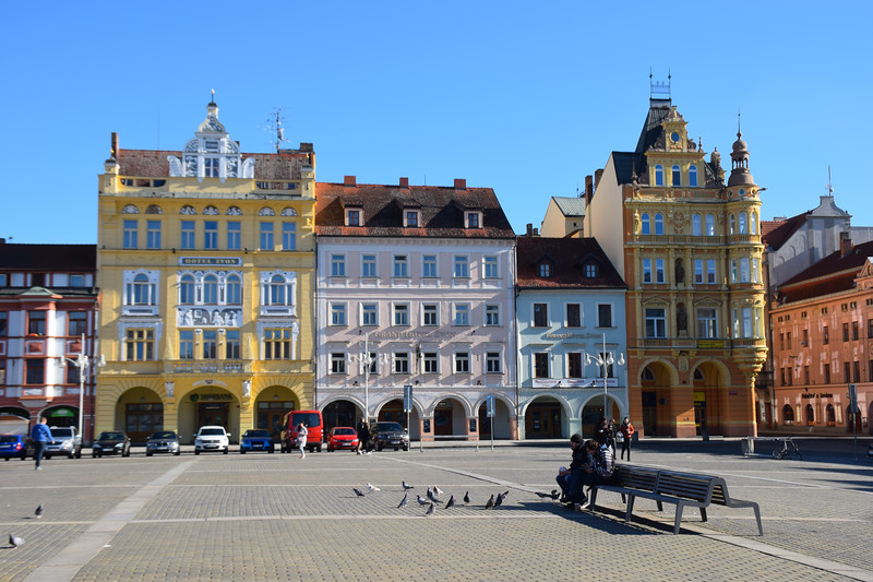 Baroque Burgher Houses in the square