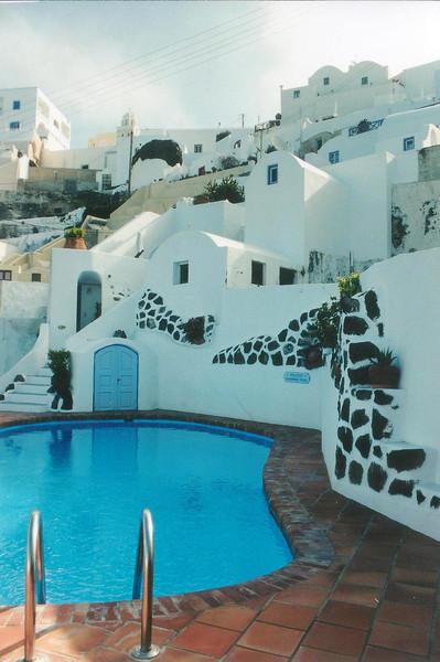 Sun Rocks Hotel, 1999, Santorini Greece