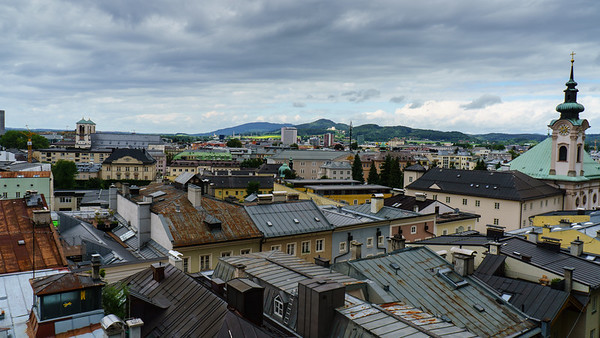 Salzburg: City Rooftops