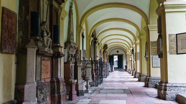 Salzburg: St Sebastian Church Cemetary