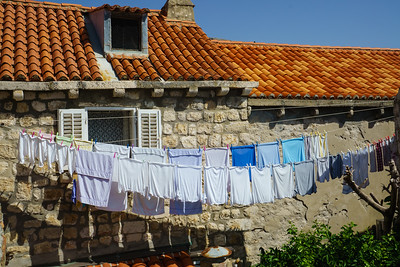 Dubrovnik: Wash Day