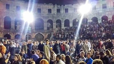 Pula Arena: David Gilmour Concert