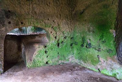 Etruscan Cave Interior