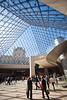 Inside the Louvre vert