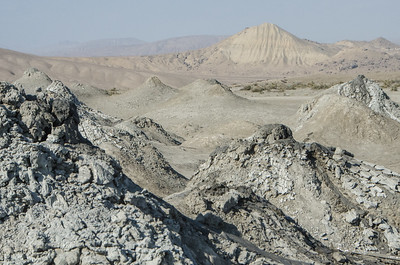 A day trip to the mud volcanoes outside Baku...