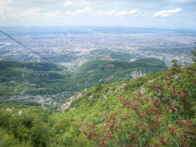 mount dajti tirana albania