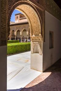 Ornate Archway - Alhambra Palace