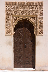 Ornate Door - Alhambra Palace