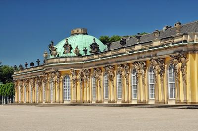 Potsdam - Château de Sanssouci