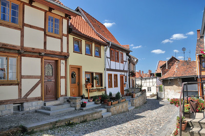 Quedlinburg - Colline de Münzenberg