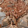 Lübeck - Musée de la ville - Maquette de la ville au temps de la Hanse