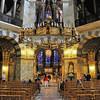 Aix-la-Chapelle - Chapelle palatine - Lustre de Frédéric Barberousse