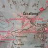 Or 1576 kaart Schafberg