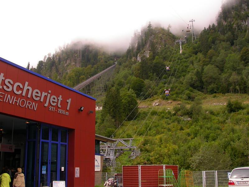 Or 0001 kabelbaan naar Kitzsteinhorn