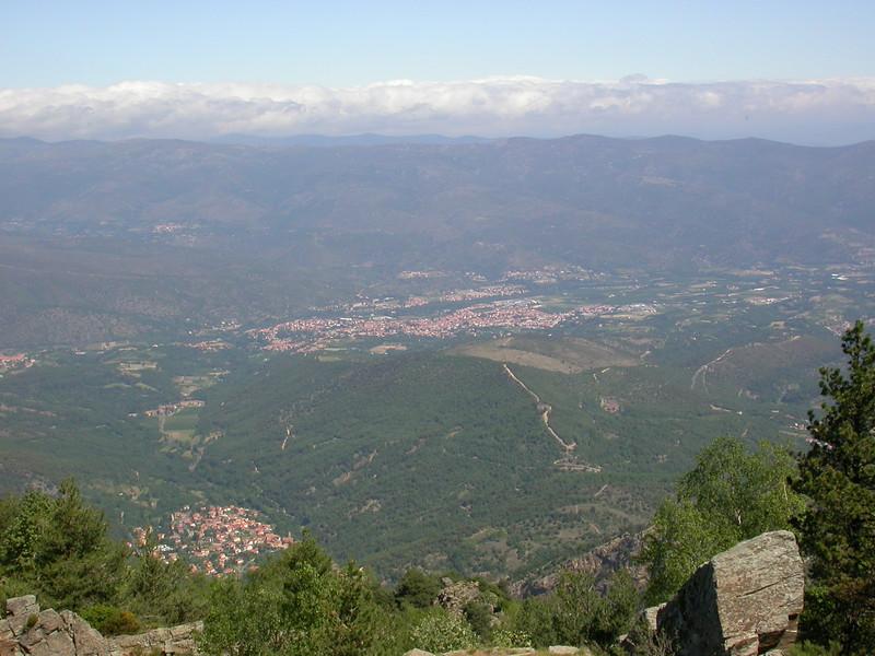 Fr 0634 uitzicht op Fillols en Prades