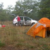 Py 0004 onze kampeerplek bij Cahors