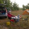 Py 0005 onze kampeerplek bij Cahors