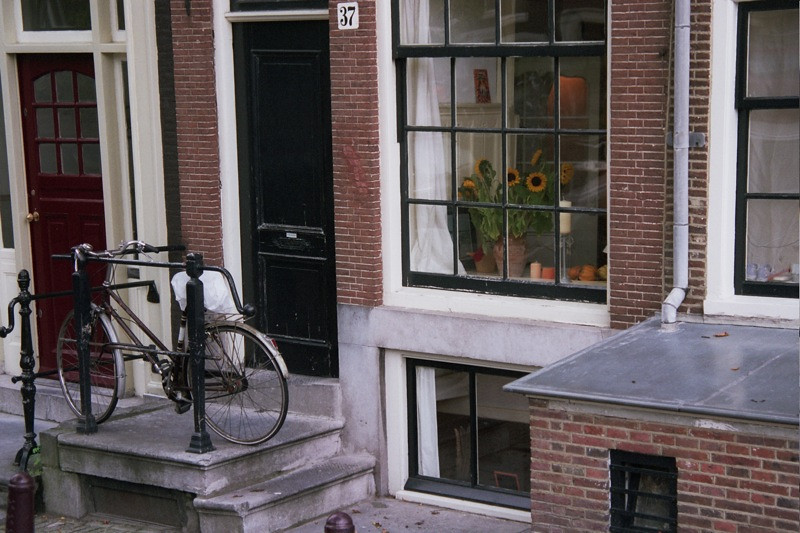 Bicycle and Apartment - Amsterdam, Netherlands