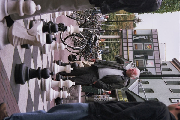 Chess Pieces - Amsterdam, Netherlands