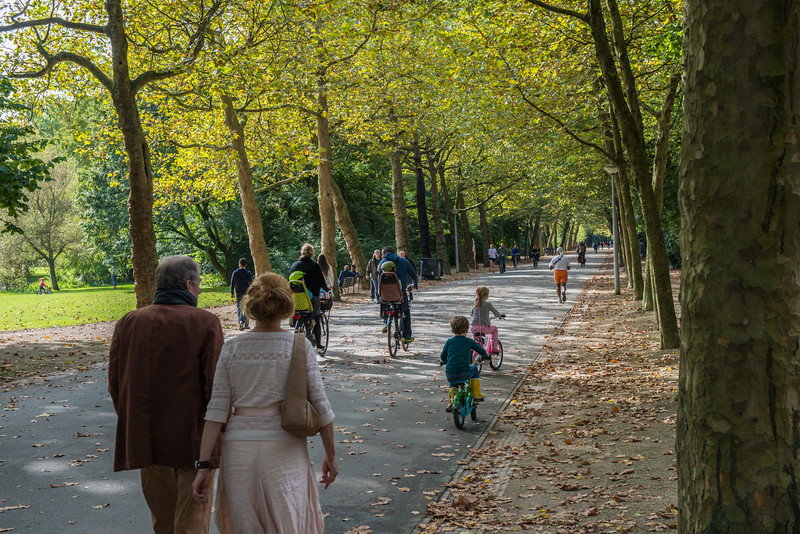 Walking in the park | Green Travel to Amsterdam
