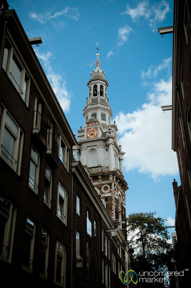 Clock Tower in Amsterdam