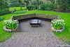 Garden Sitting Area~Keukenhof Gardens, Lisse, The Netherlands