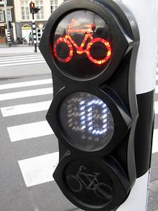 Bike signals, Amsterdam