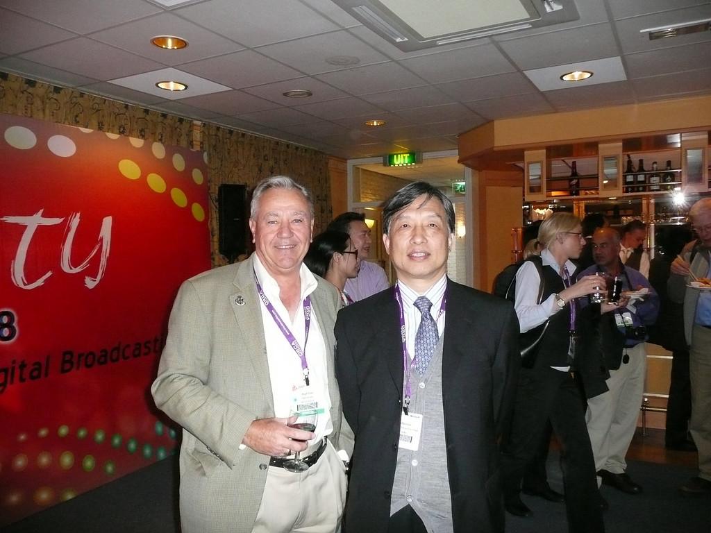 Amsterdam, IBC China reception