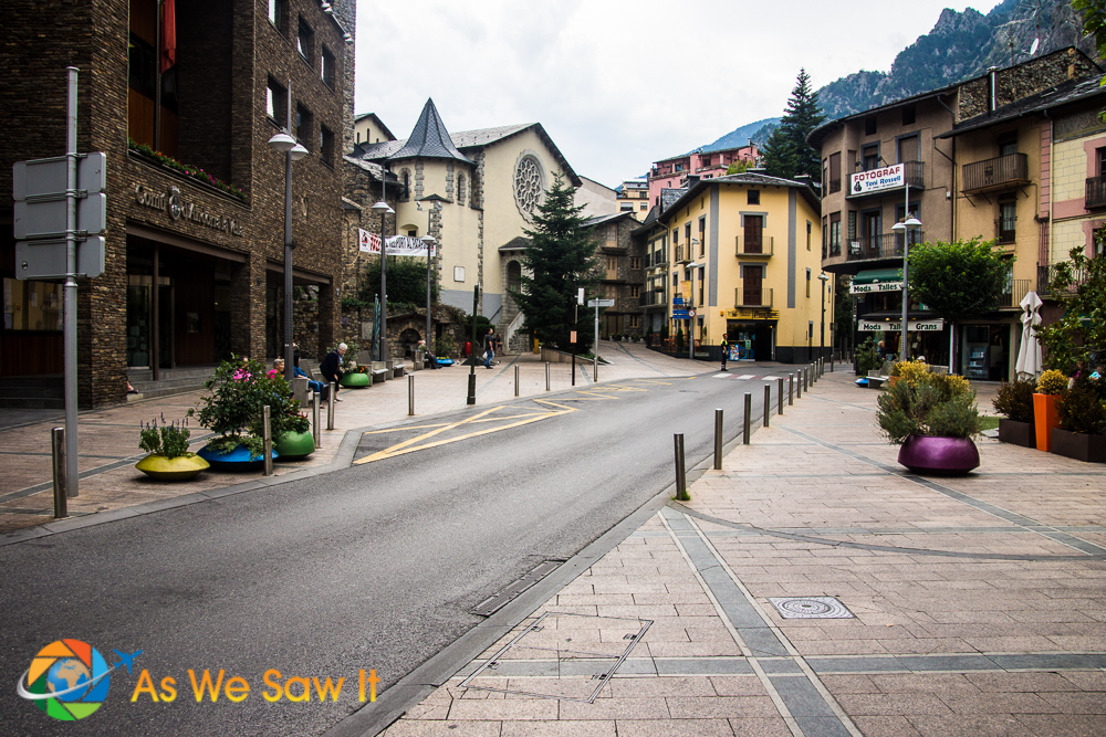 Downtown Andorra la Vella