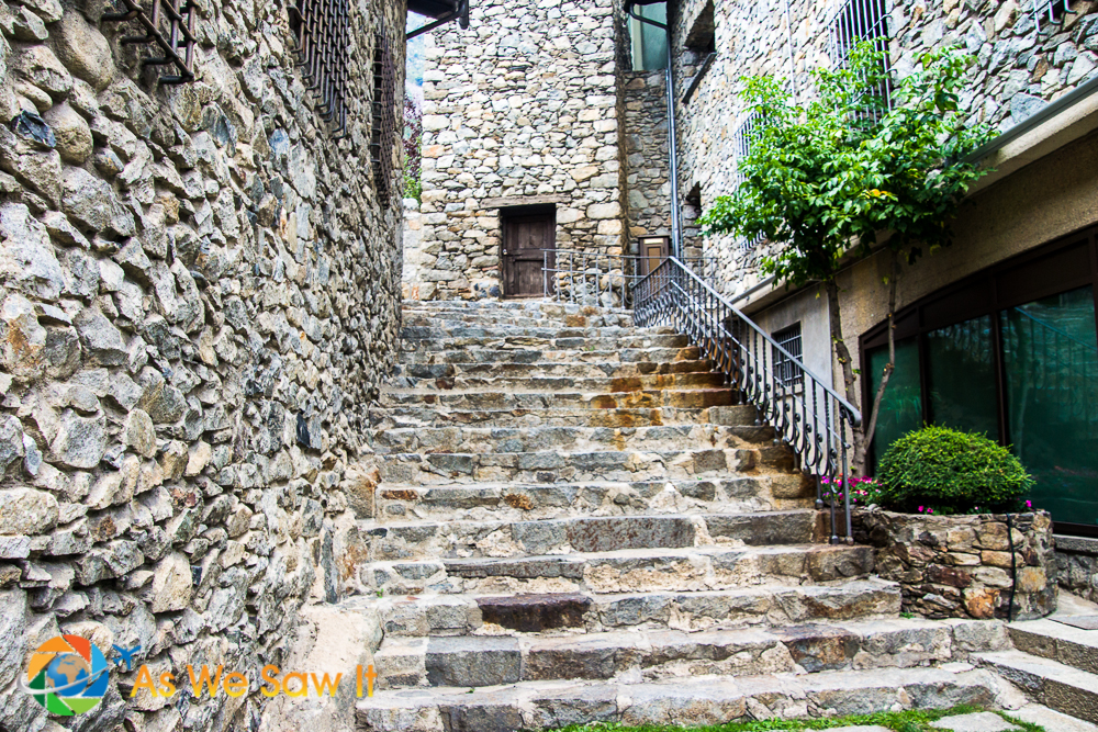 Beautiful stone works in Andorra la Vella