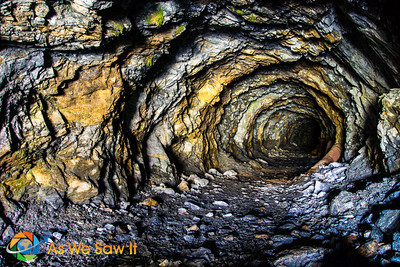 Cave we found near ski slopes