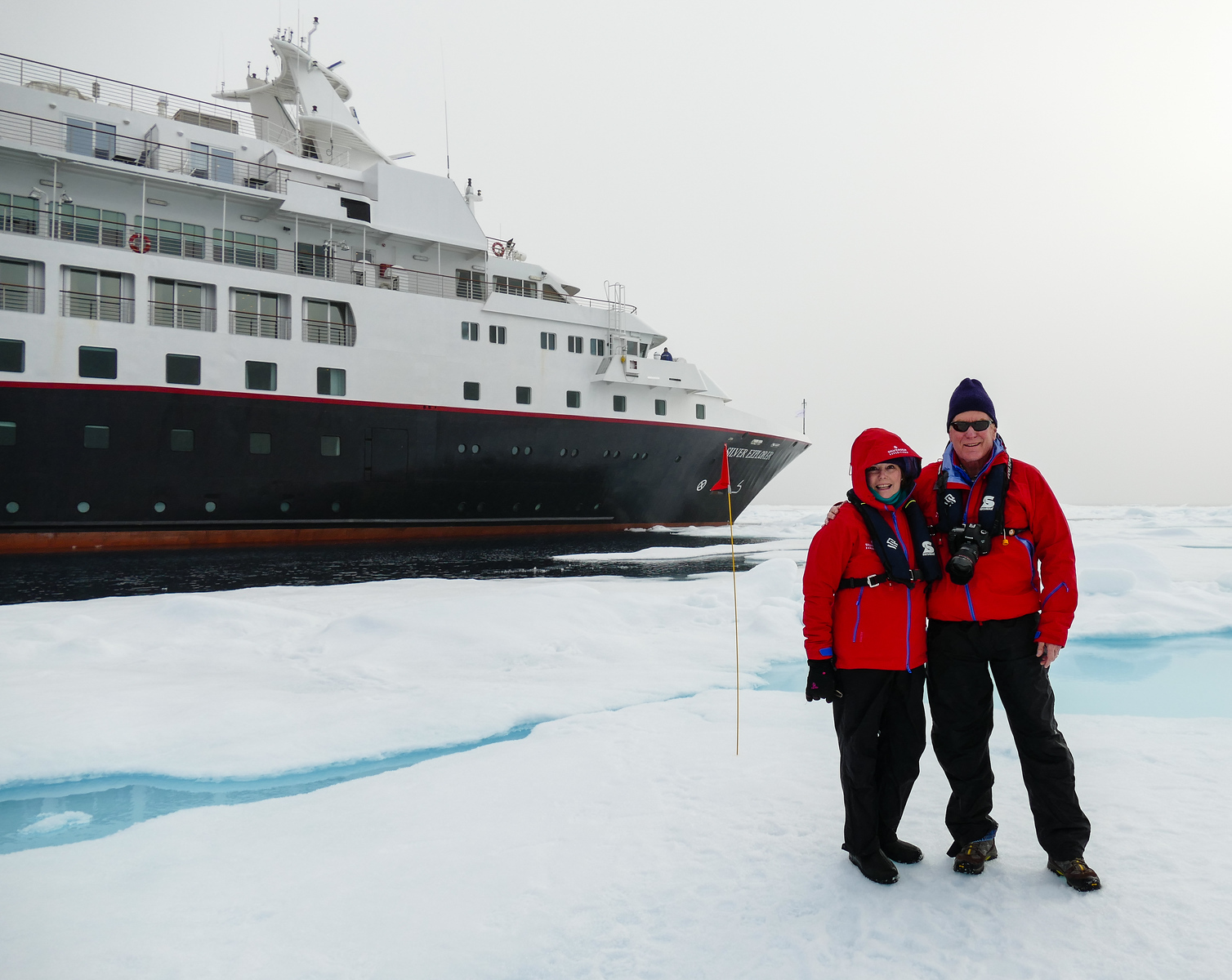 Boomer travel - bucket list trips - Stand on Arctic ice during a luxury expedition cruise with Silversea. It's a dream vacation to remember.