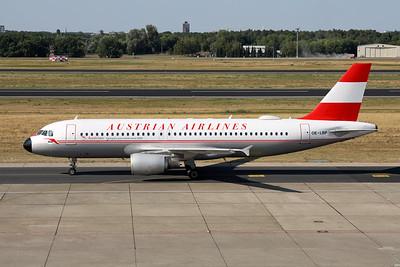 "OE-LBP Airbus A320-214 c/n 0797 Berlin-Tegel/EDDT/TXL 22-08-18 ""Retro"""