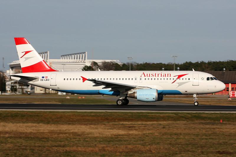 OE-LBO Airbus A320-214 c/n 0776 Frankfurt/EDDF/FRA 14-04-13