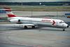OE-LML Douglas MD-87 c/n 49412 Frankfurt/EDDF/FRA 10-07-96 (35mm slide)