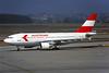 OE-LAB Airbus A310-324 c/n 492 Geneva/LSGG/GVA 09-03-96 (35mm slide)