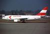 OE-LAA Airbus A310-324 c/n 489 Geneva/LSGG/GVA 09-03-96 (35mm slide)