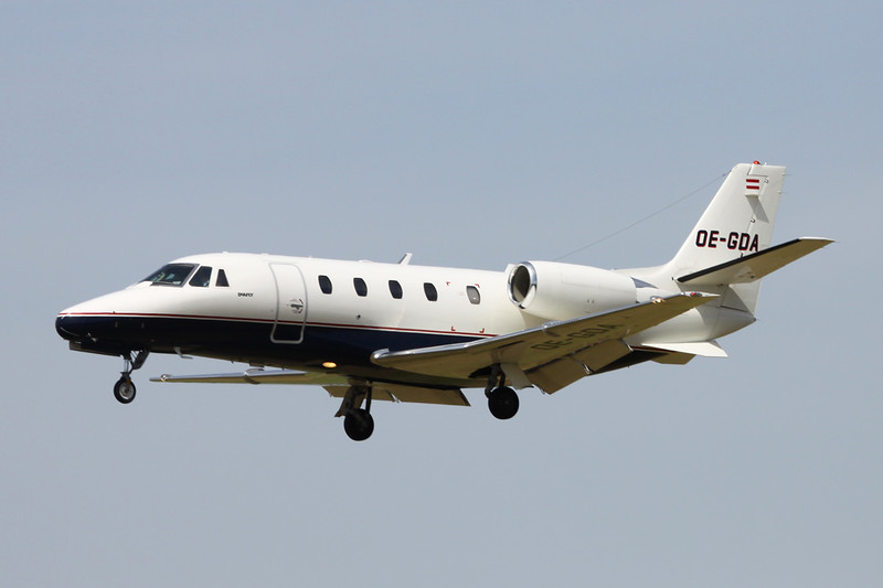 OE-GDA Cessna 560 Citation Excel S c/n 560-5801 Paris-Le Bourget/LFPB/LBG 10-07-16