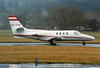 OE-FHP Cessna 501 CItation ISP c/n 501-0321 Edinburgh/EGPH/EDI 18-03-94 (10x15 print)