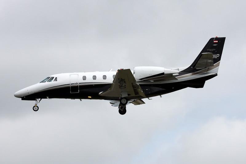 OE-GNP Cessna 560 CItation Excel S+ c/n 560-6017 Paris-Le Bourget/LFPB/LBG 16-06-17