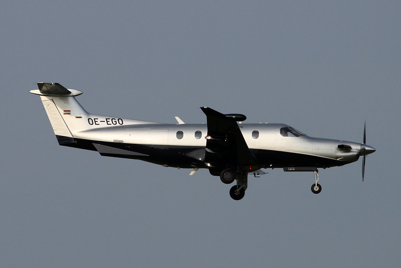 OE-EGO Pilatus PC-12-47E c/n 1373 Zurich/LSZH/ZRH 08-09-17